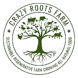 Crazy Roots Farm logo