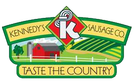 "Kennedy's Sausage Co. Logo - ""Taste the Country"""